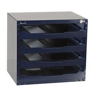 Raaco Safe Box Tresor für 4 CarryLite 55 Sortimentskoffer Leer 139328