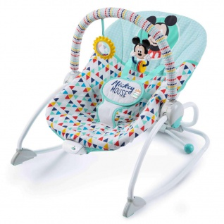 Disney Baby Mickey Mouse Babywippe Heiteres Dreieckmuster