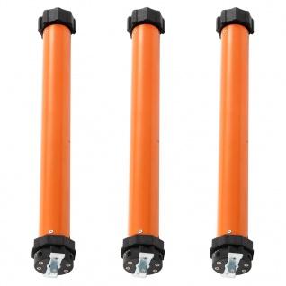 vidaXL Rohrmotoren 3 Stk. 10Nm