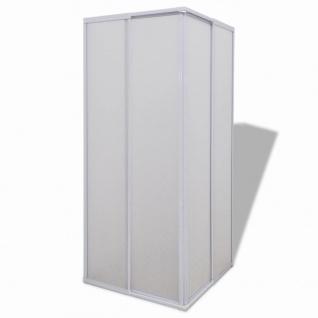 Duschkabine Duschabtrennung Rechteckig 80 x 80 cm - Vorschau 3