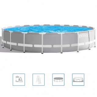 Intex Prism Frame Swimmingpool-Set 610 x 132 cm 26756GN