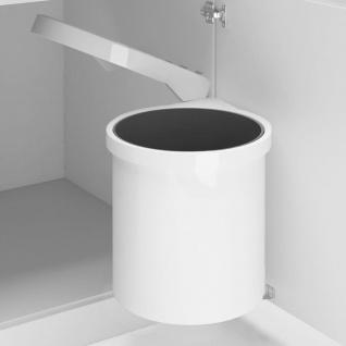 vidaXL Küchen-Einbau-Mülleimer Kunststoff 8 L
