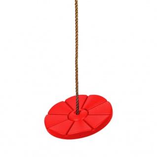 Swing King Schaukelscheibe aus Kunststoff D28 cm rot 2521062