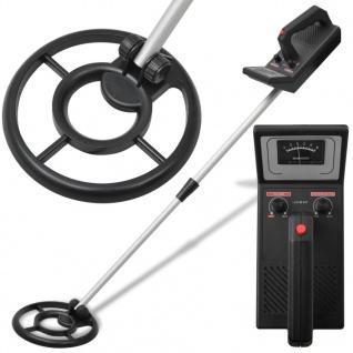 vidaXL Metalldetektor 160 cm