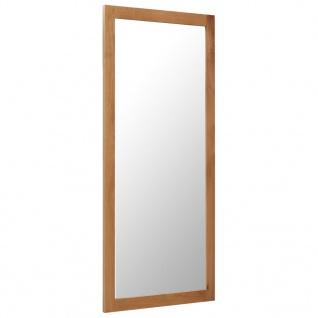 vidaXL Spiegel 50 x 140 cm Massivholz Eiche
