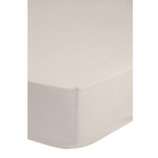 Emotion Bügelfreies Spannbettlaken 160x200 cm Sand 0220.06.45