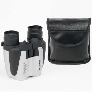 Cresta Kompaktes Fernglas PB970 Silbern und Schwarz 75684.01