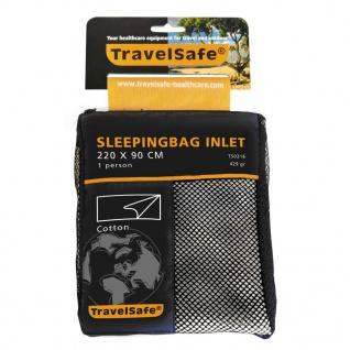 Travelsafe Schlafsack Inlett Deckenform Baumwolle TS0316