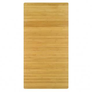 Kleine Wolke Badteppich Bambus 50 x 80 cm Braun
