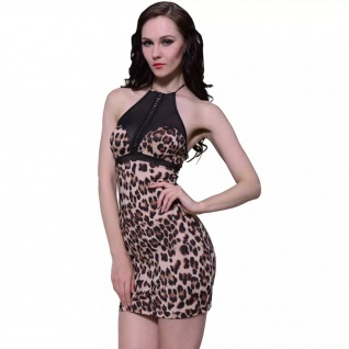 Sexy Damen Lingerie Leopardenprint Dessous Einheitsgröße