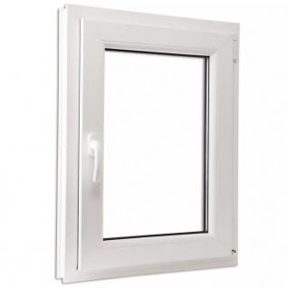 Dreifach Verglast PVC Drehkippfenster+Griff (linke Seite) 600x900mm