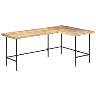 vidaXL Schreibtisch 120 x 60 x 76 cm Massivholz Mango