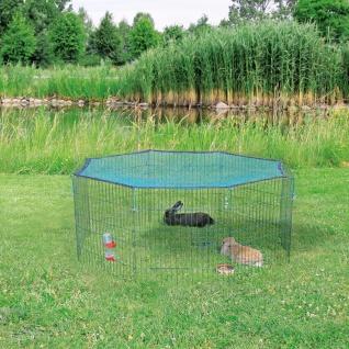 TRIXIE Außengehege mit Schutznetz 60x57 cm grün 62411