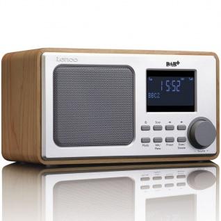 Lenco DAB+ Radio DAR-010 Holzfarben