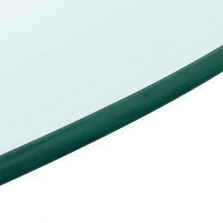 vidaXL Tischplatte aus gehärtetem Glas rund 600 mm - Vorschau 3