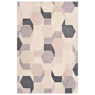 vidaXL Teppich Bedruckt Mehrfarbig 140x200 cm Polyester