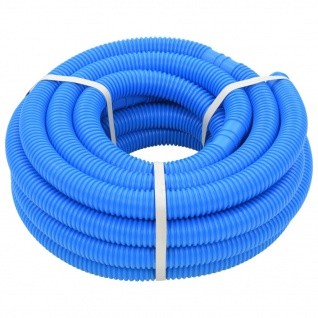 vidaXL Poolschlauch Blau 32 mm 12, 1 m