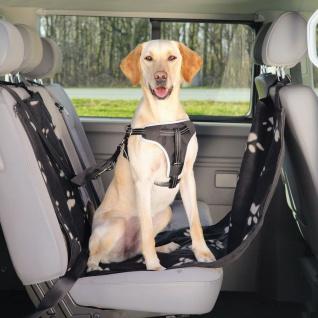 TRIXIE Auto-Schondecke für Hunde 65x145 cm Schwarz und Beige 13231