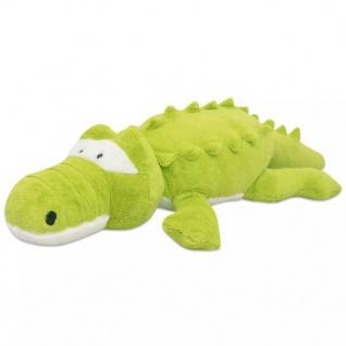 vidaXL Kuscheltier Krokodil XXL 100 cm - Vorschau 1
