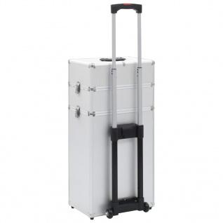 vidaXL Kosmetikkoffer Aluminium Silbern - Vorschau 5
