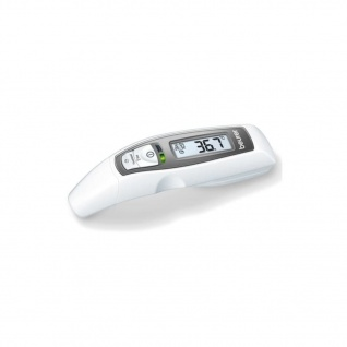 Beurer Multifunktions-Thermometer FT 65 Weiß und Grau