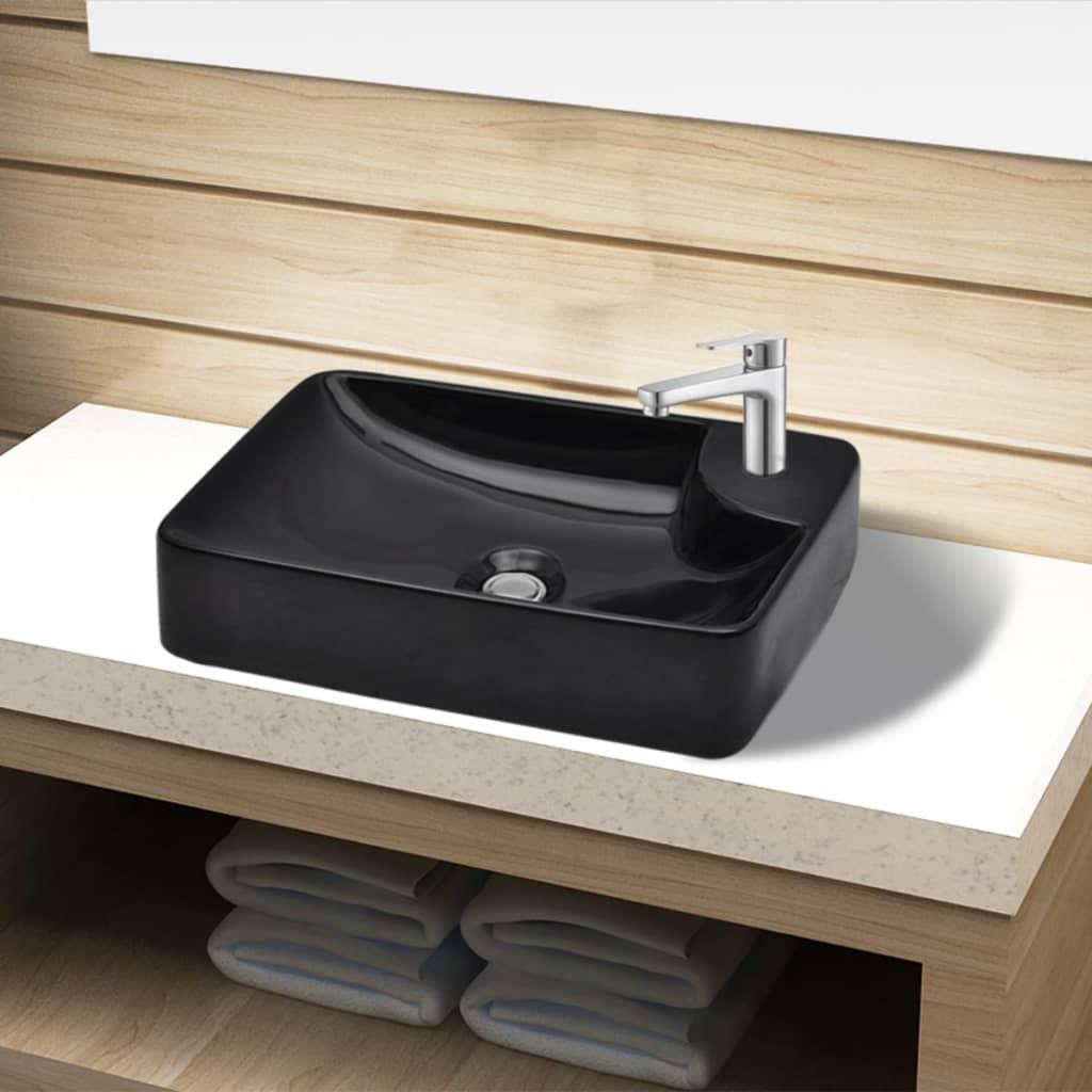 Heimwerker Handwaschbecken für das Badezimmer vidaXL Waschbecken