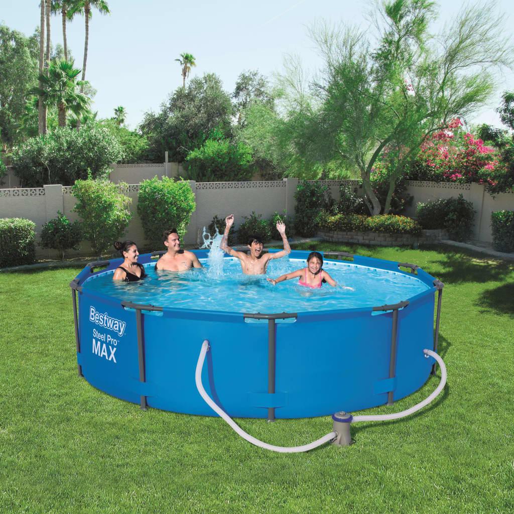 Bestway Swimmingpool-Set Swimmingpool-Set Swimmingpool-Set   Steel Pro MAX  305x76 cm 56408 1f9e4e
