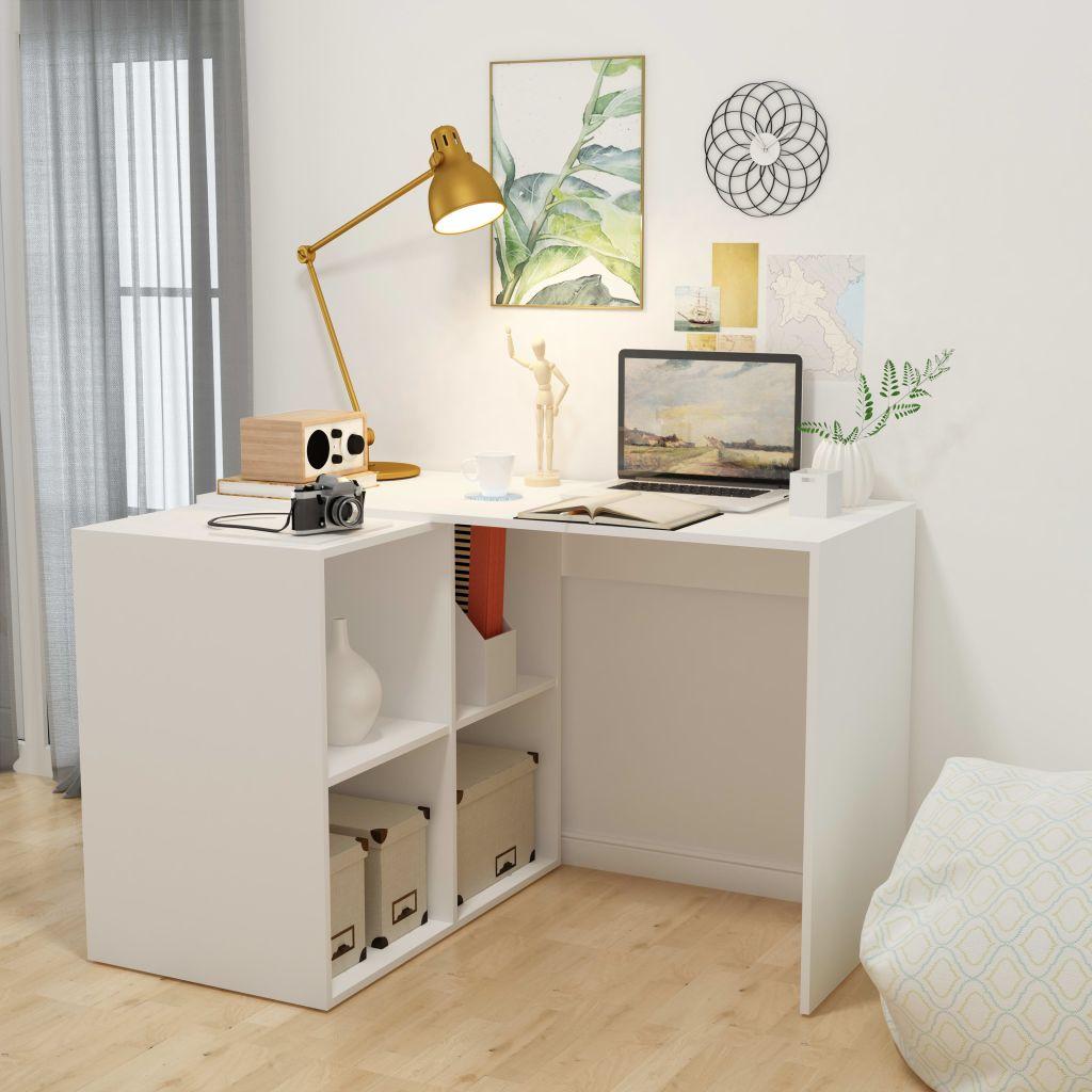 Erstaunlich Regal Schreibtisch Beste Wahl Vidaxl Mit 117 X 92 X 75,
