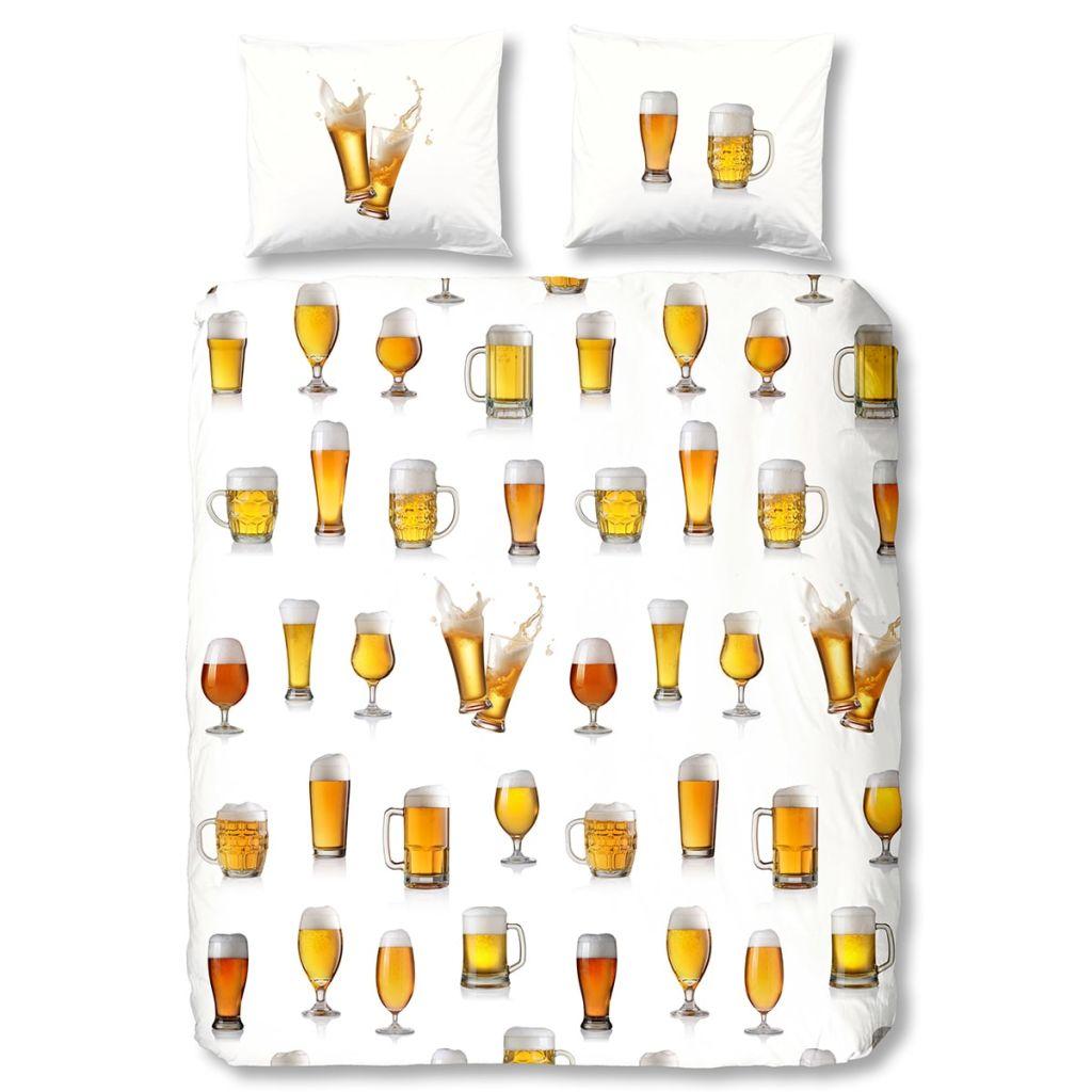 Good Morning Bettwäsche Set 5808 A Beerglass 240 X 200220 Cm Weiß