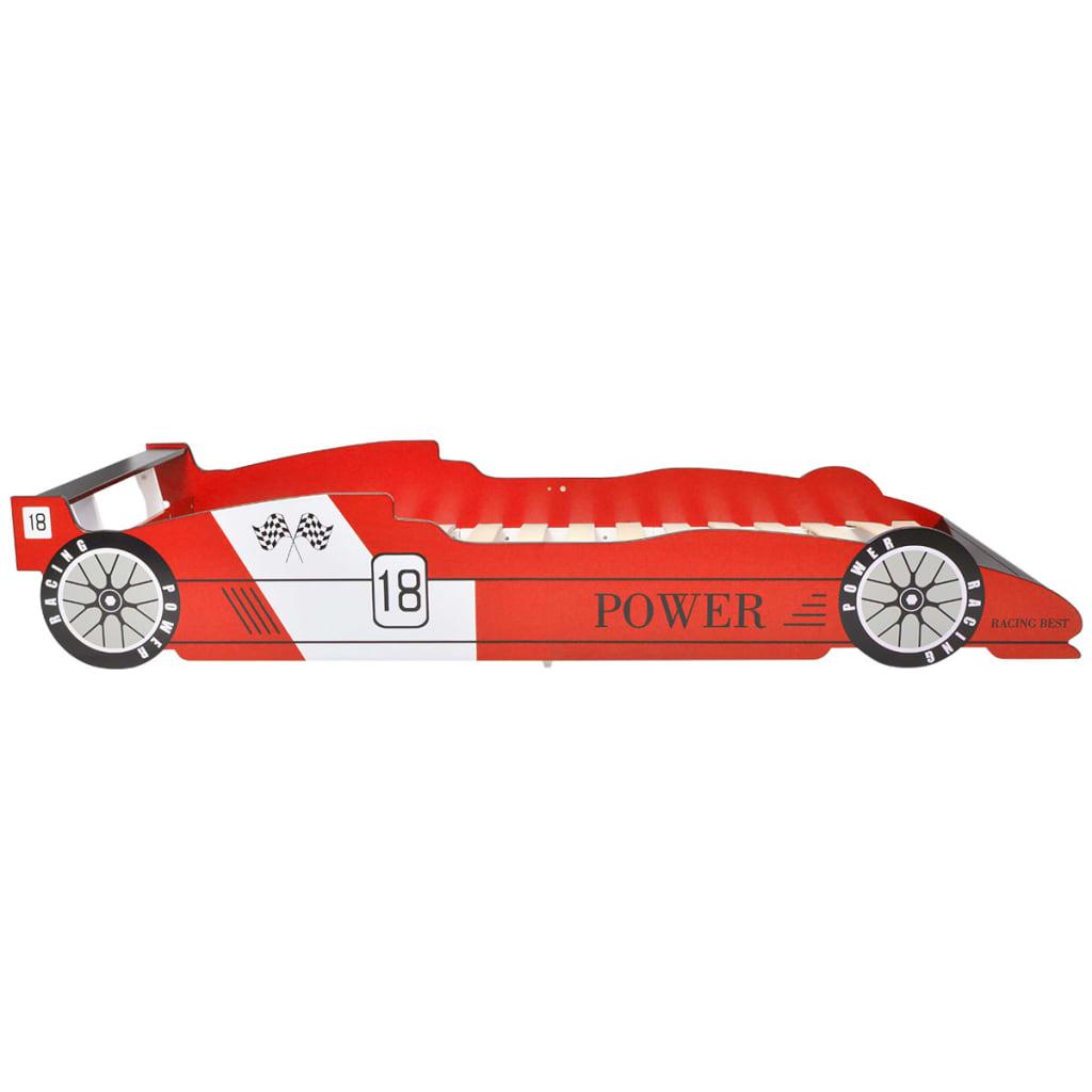 vidaXL Rennwagen-Bett 90x200 cm Rot - Kaufen bei Vida XL Europe B.V.