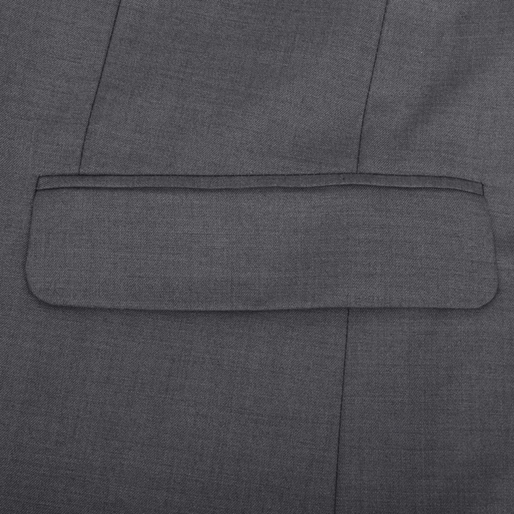 b6382e6a9f6e Business Anzug für Herren 3-teilig Grau Gr. 50