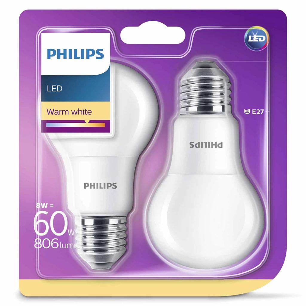 Philips LED Lampen 2 Stk. 8 W 806 Lumen 929001234361 1 ...