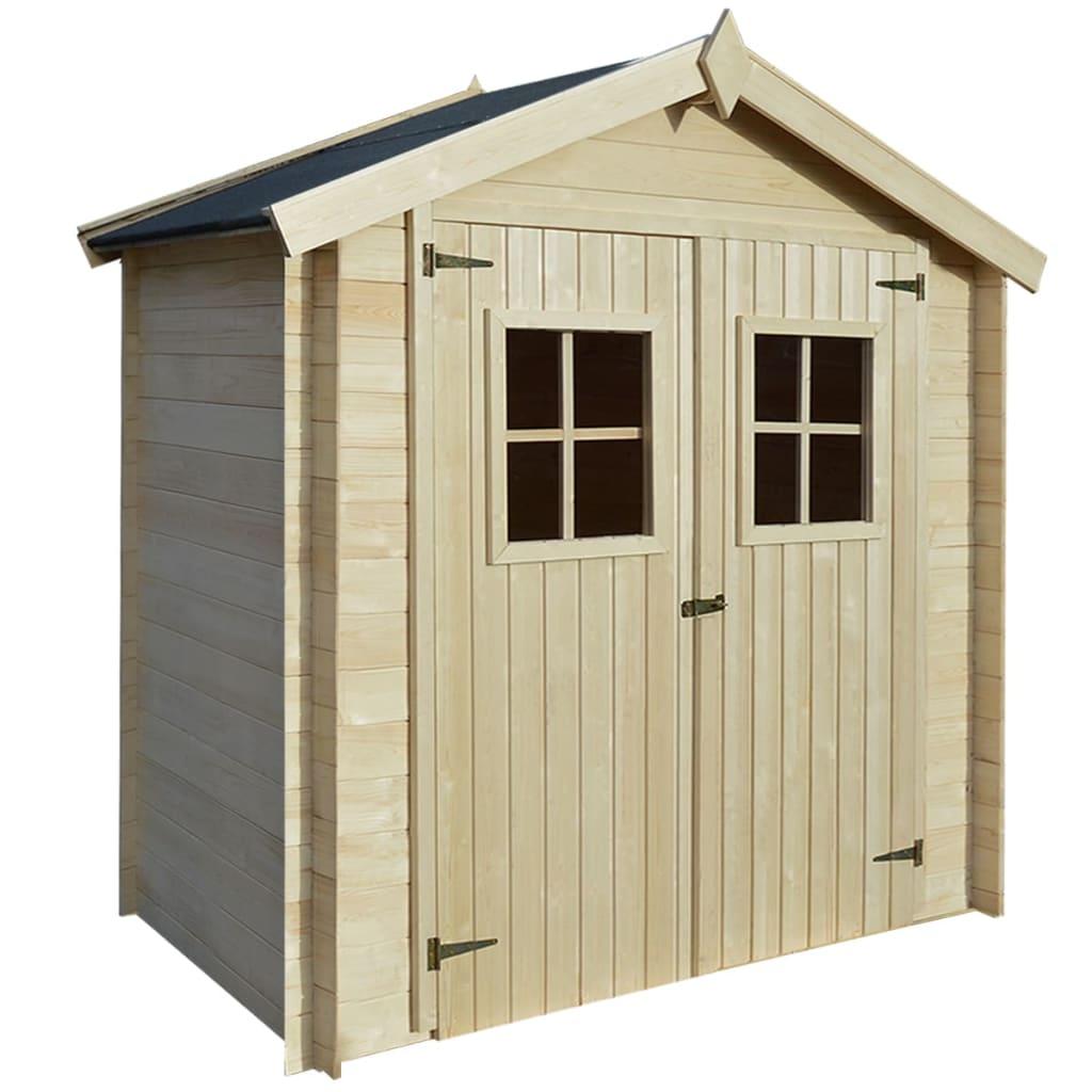 vidaxl gartenhaus holz 2 x 1 m 19 mm holz - kaufen bei vida xl