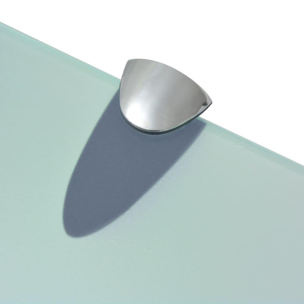Schwebendes Regal vidaxl schwebendes regal glas 100x10 cm 8 mm kaufen bei vida xl