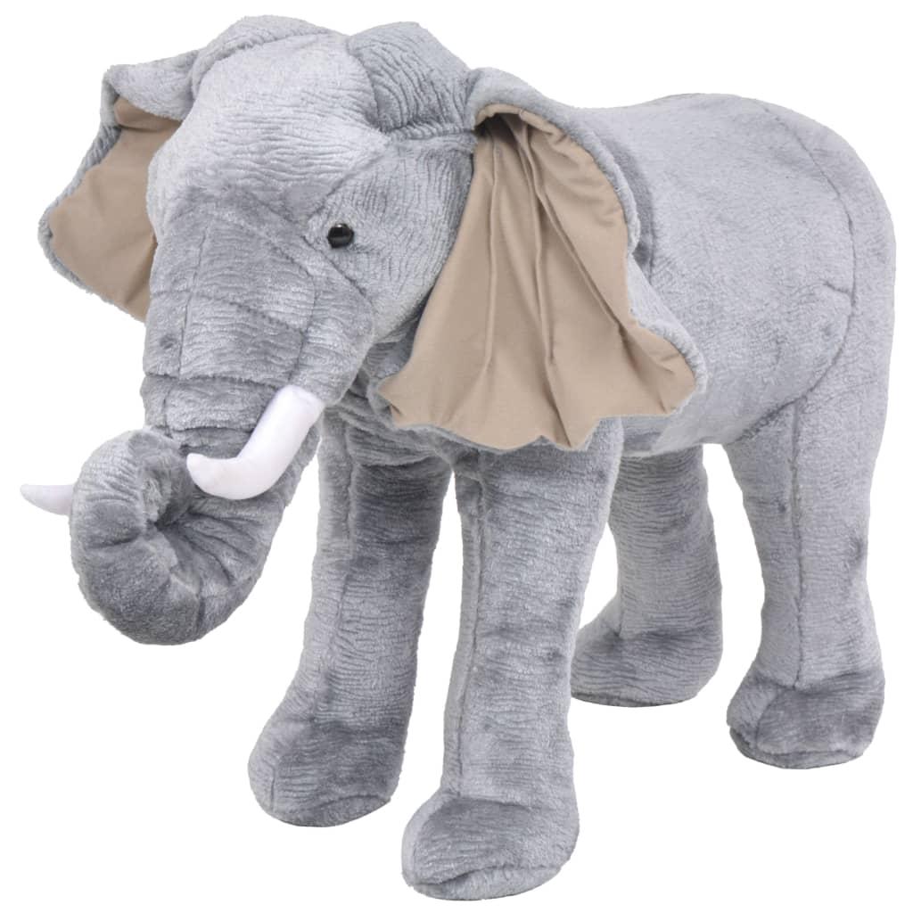 piedi da Vida Xl Elephant Grey Acquista Xxl Vidaxl Peluche in rodeWBQCxE