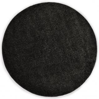 vidaXL Hochflor-Teppich 67 cm Anthrazit