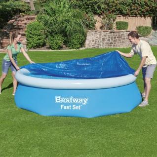 Bestway Flowclear Poolabdeckung Fast Set 305 cm