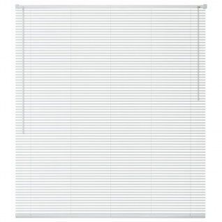vidaXL Fensterjalousien Aluminium 120x220 cm Weiß