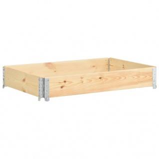 vidaXL Hochbeet 50x150 cm Kiefer Massivholz