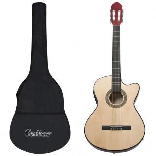 vidaXL 12-tlg. Western Gitarren-Set mit Equalizer und 6 Saiten