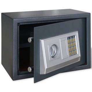 Elektronischer Safe Tresor mit Fachboden 35 x 25 x 25 cm