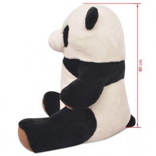 vidaXL Kuscheltier Panda XXL 80 cm - Vorschau 4