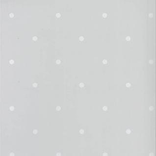 Fabulous World Tapete Dots Grau und Weiß 67105-1