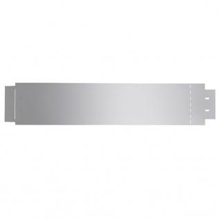 vidaXL Rasenkanten 10 Stk. Verzinkter Stahl 100 x 20 cm - Vorschau 5