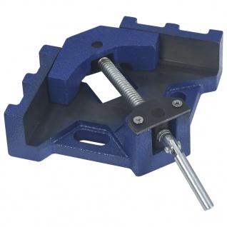 vidaXL Winkel-Schraubstock 104 mm Gusseisen
