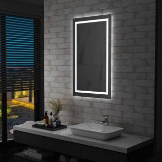 vidaXL Badezimmerspiegel mit LED und Touch-Sensor 60 x 100 cm