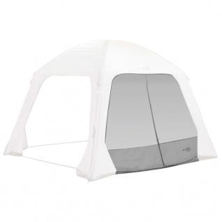 Bo-Camp Seitenwand mit Moskitonetz für Zelt Air Gazebo Grau
