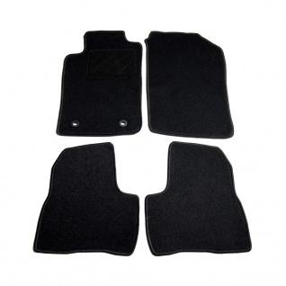 vidaXL Autofußmatten-Set 4-tlg. für Peugeot 206 SW