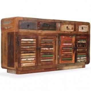 vidaXL Sideboard Recyceltes Massivholz 150 x 35 x 75 cm