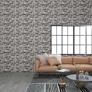 vidaXL 3D-Wandverkleidungen 11 Stk. Dunkelgrau Steinoptik EPS